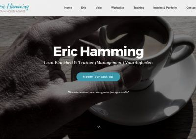 Eric Hamming – Training en Advies