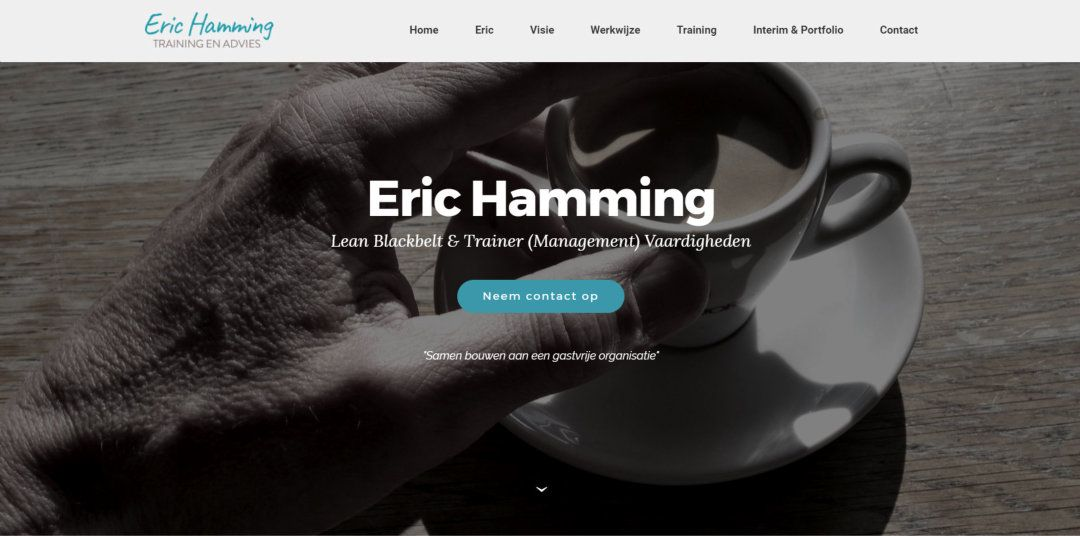 Eric Hamming – Training en Advies